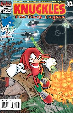 Knuckles the Echidna #1 [Archie Comic] LARGE