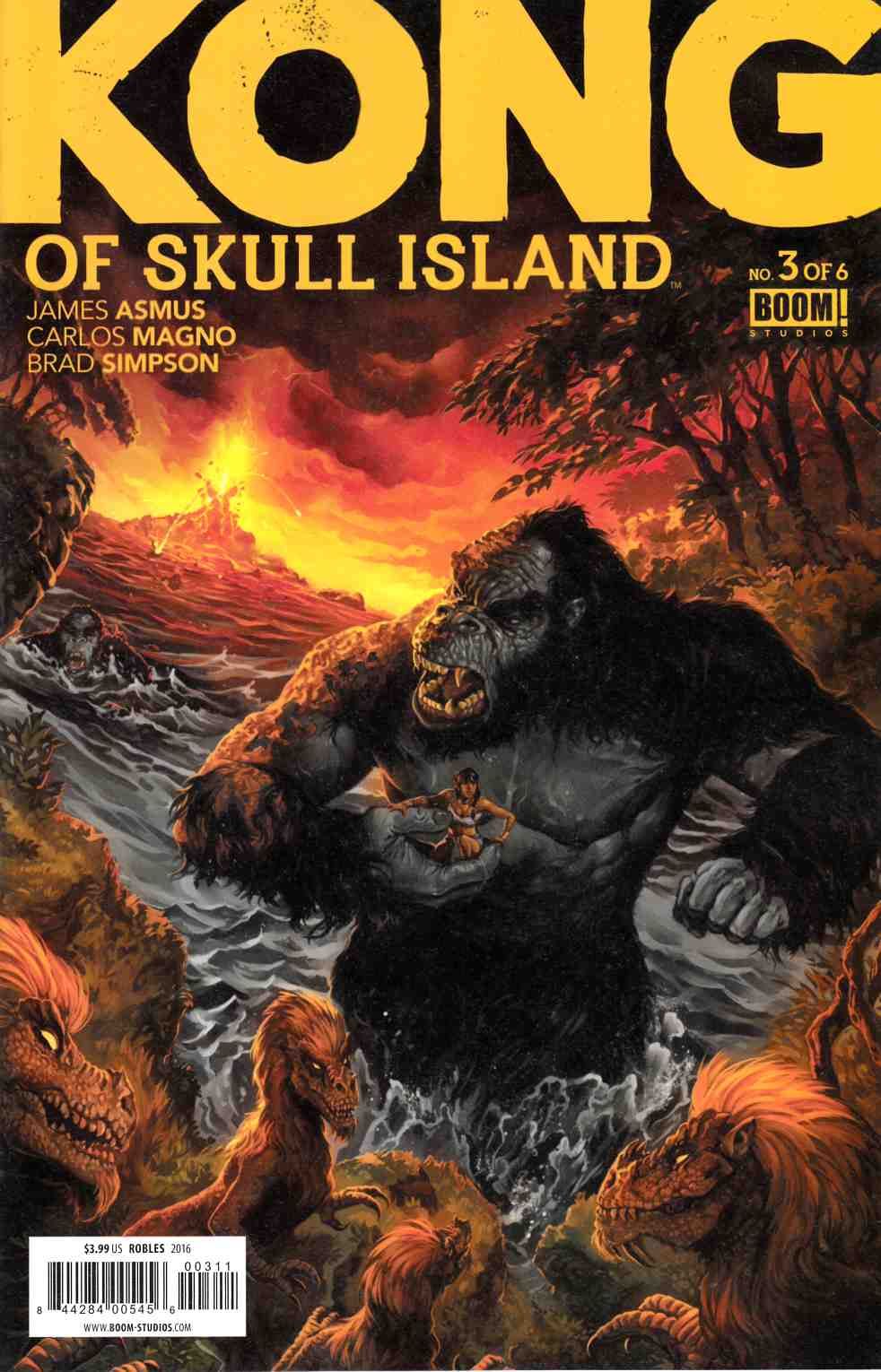 Kong of Skull Island #3 [Boom Comic] LARGE