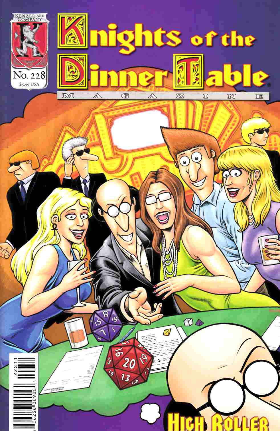 Knights of the Dinner Table #228 [Kenzer & Company Comic] LARGE