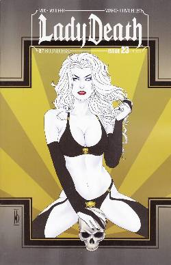 Lady Death (Ongoing) #23 Art Deco Incentive Cover [Comic]