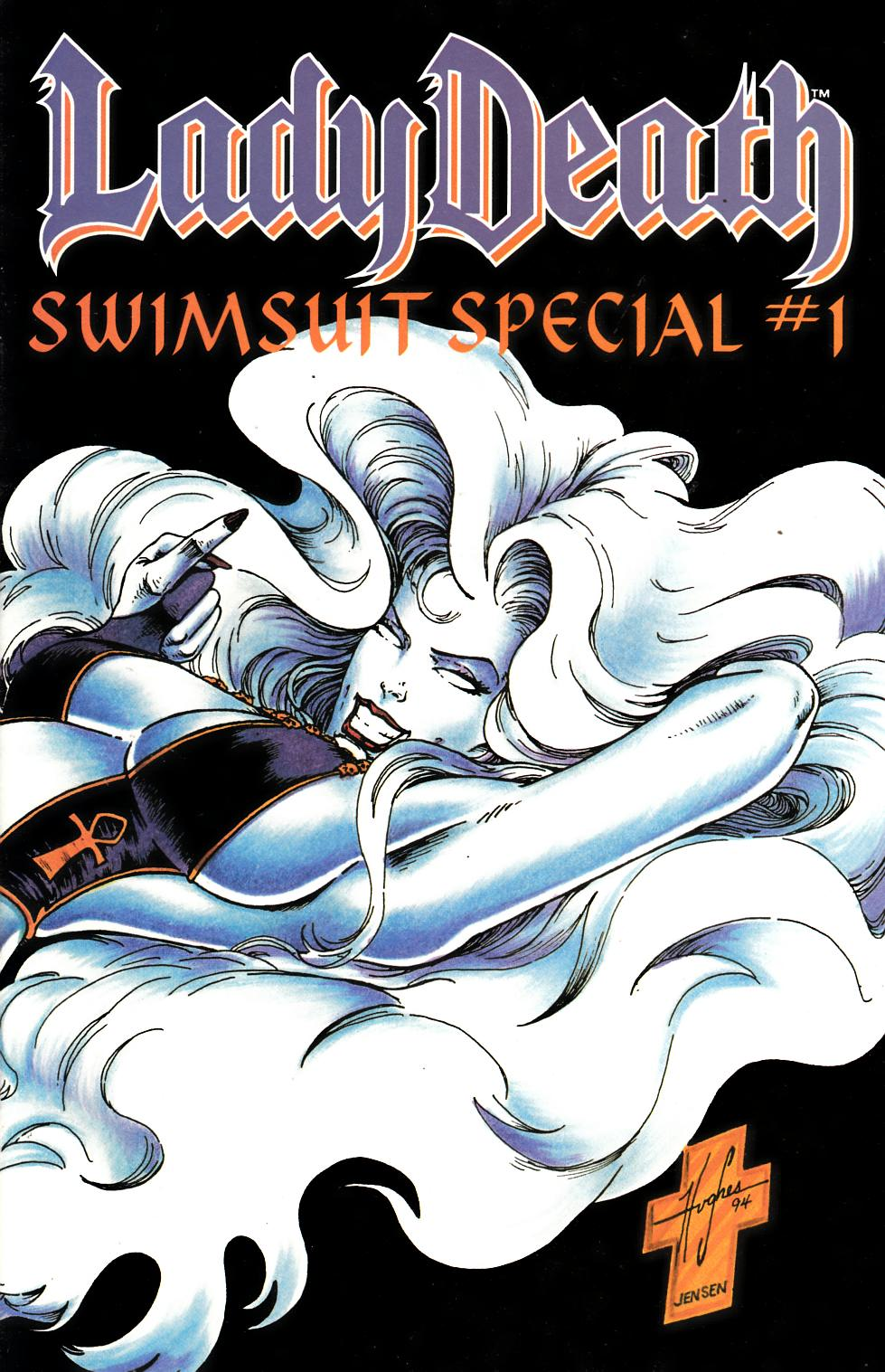 Lady Death Swimsuit Special #1 Near Mint (9.4) [Chaos Comic] LARGE