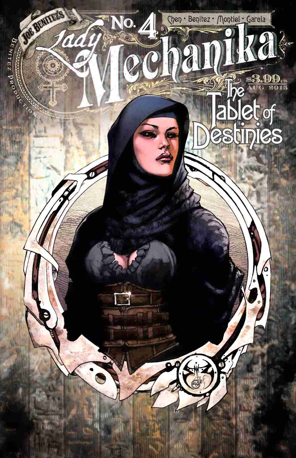 Lady Mechanika Tablet of Destinies #4 Cover B [Benitez Comic] THUMBNAIL