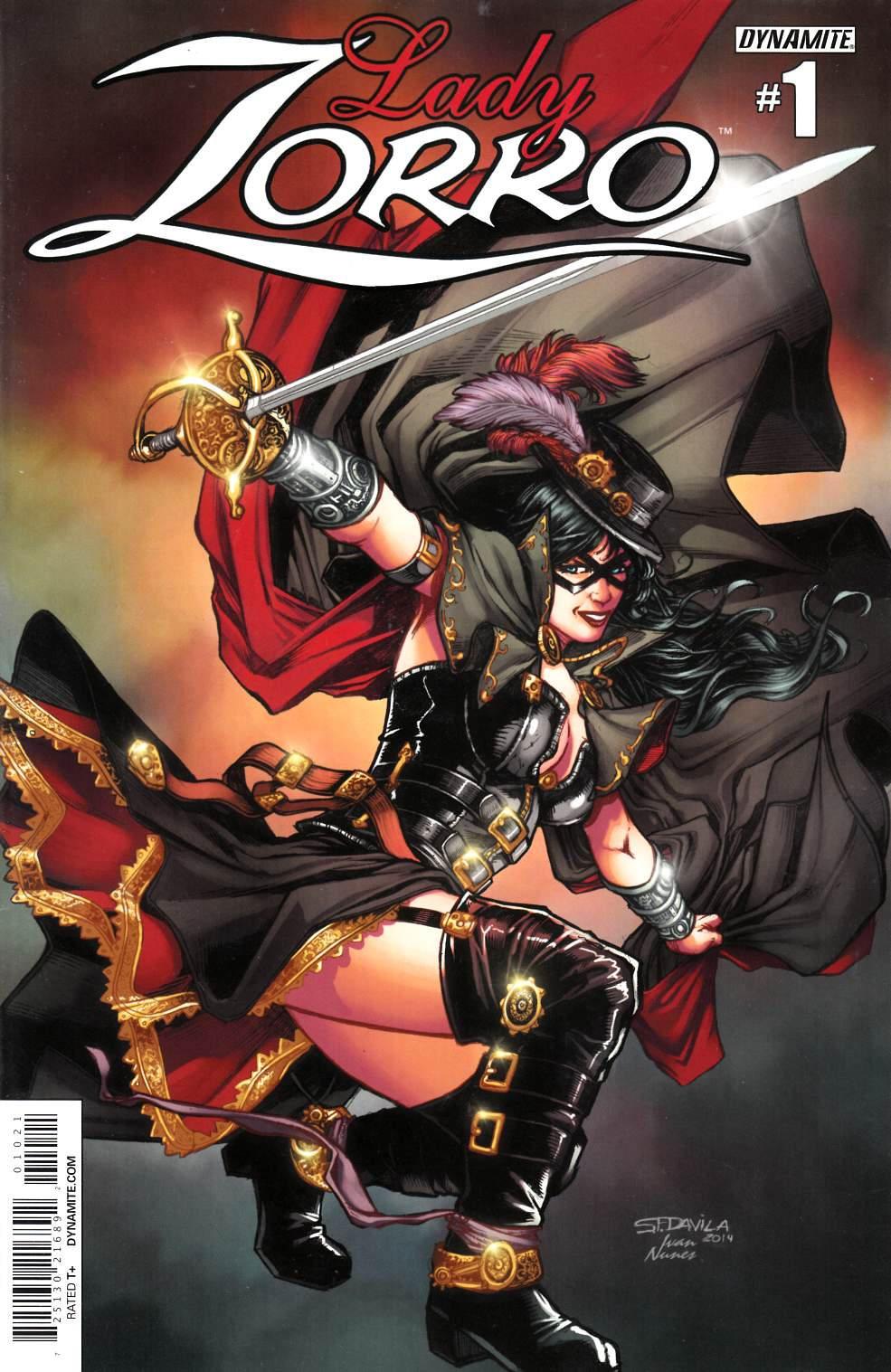 Lady Zorro #1 Davila Steampunk Incentive Cover [Comic] LARGE