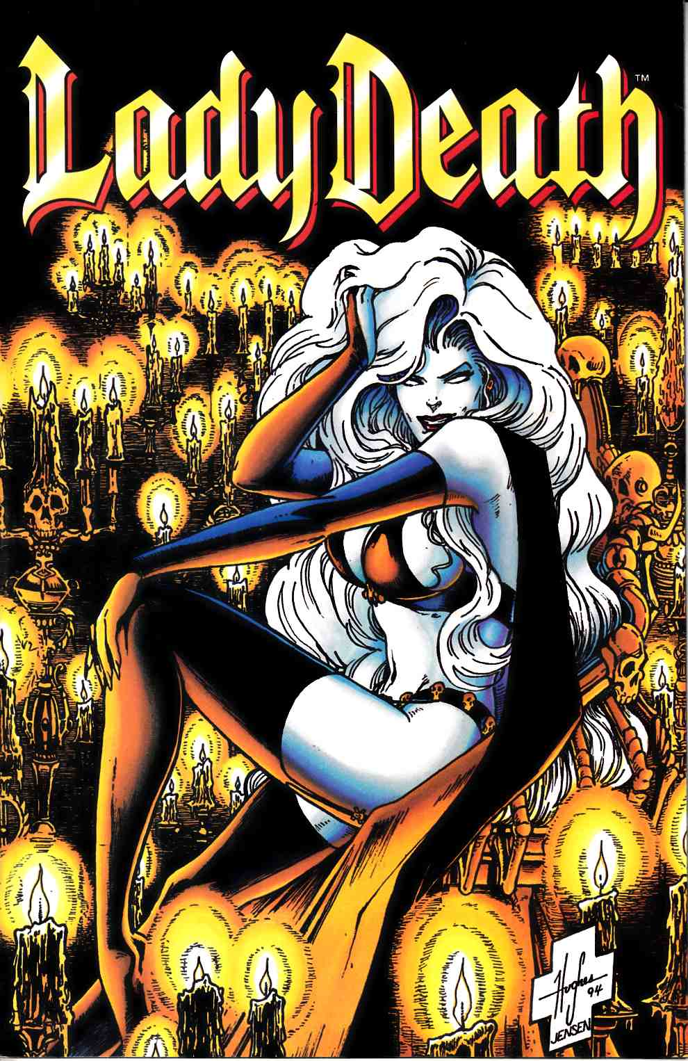Lady Death Death Between Heaven and Hell #2 Near Mint (9.4) [Chaos Comic] LARGE