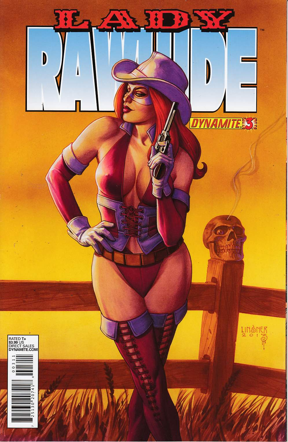 Lady Rawhide #3 Very Fine (8.0) [Dynamite Comic] THUMBNAIL