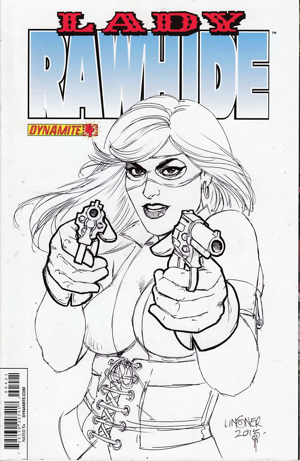 Lady Rawhide #4 Subscription Cover Near Mint (9.4) [Dynamite Comic]_THUMBNAIL