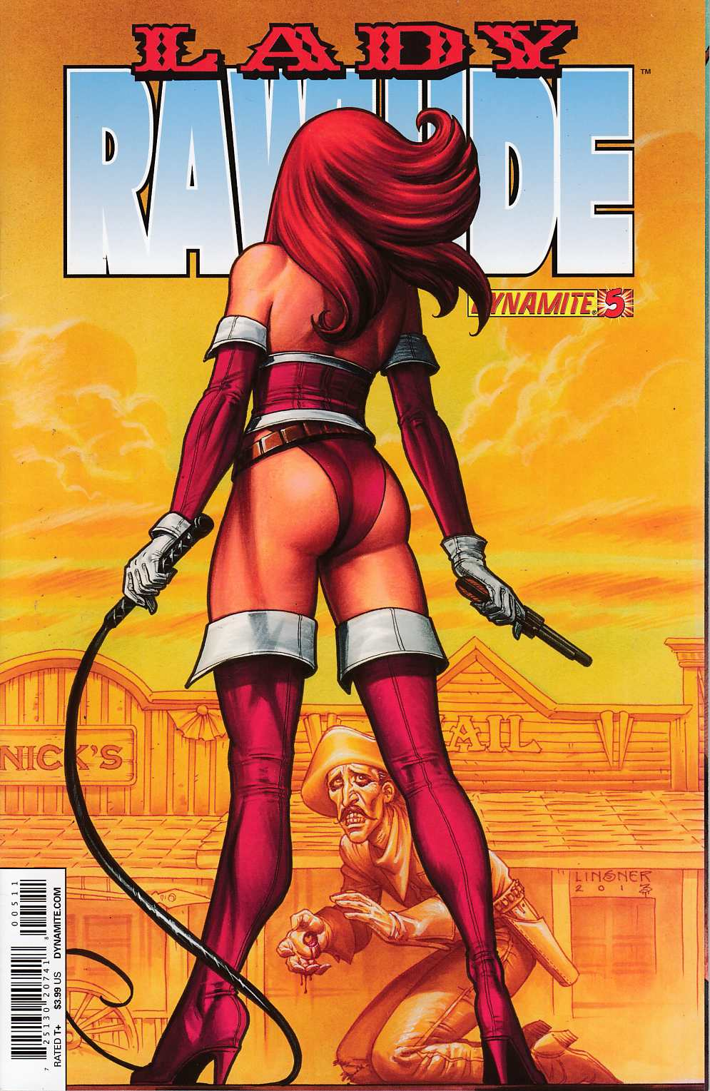 Lady Rawhide #5 Very Fine (8.0) [Dynamite Comic]_THUMBNAIL