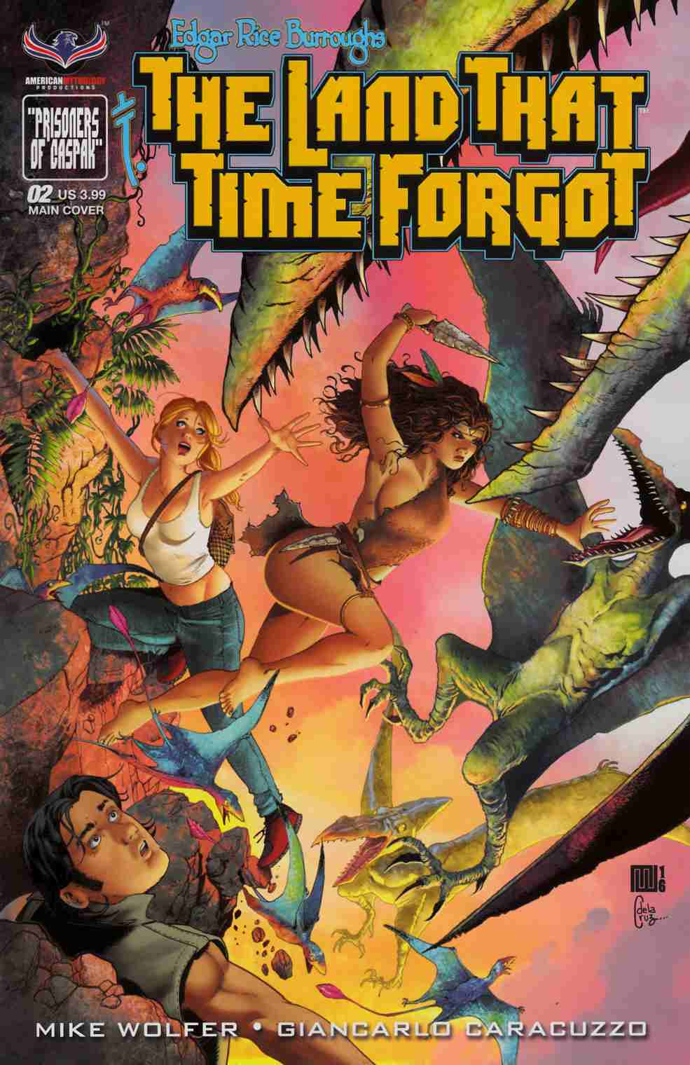 ERB Land That Time Forgot #2 [American Mythology Comic] LARGE