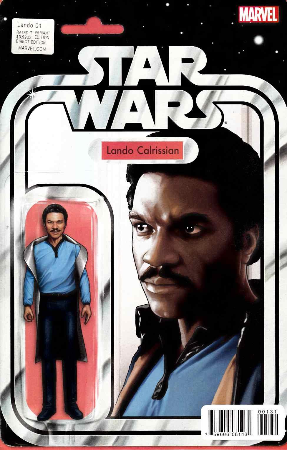 Star Wars Lando #1 2015 Blank Variant Cover Marvel Comics
