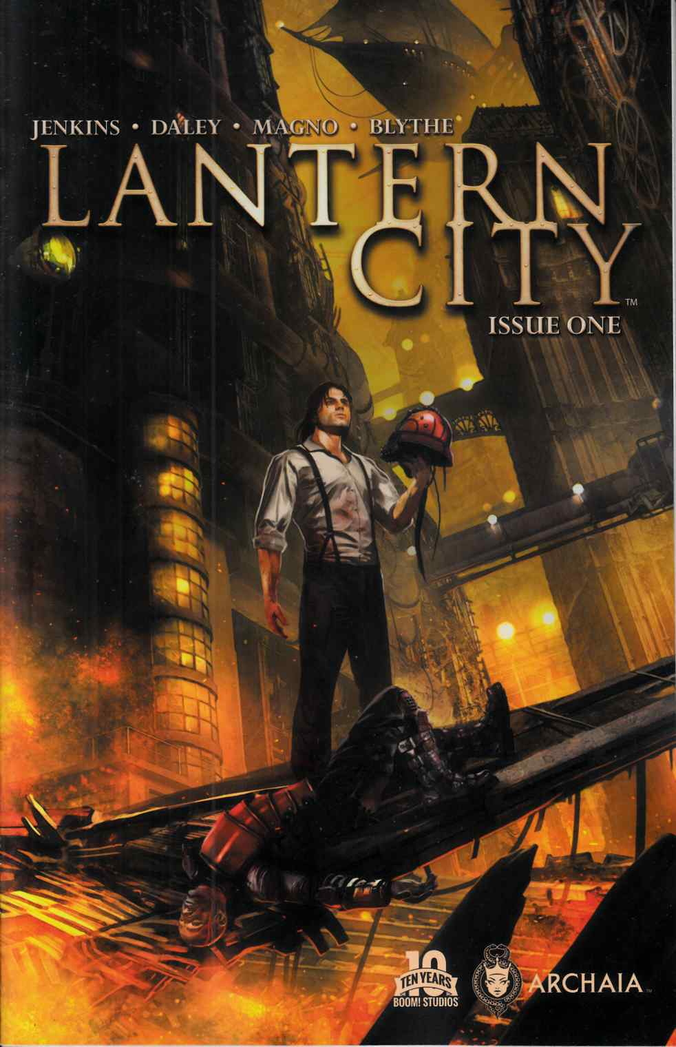 Lantern City #1 [Boom Comic] THUMBNAIL