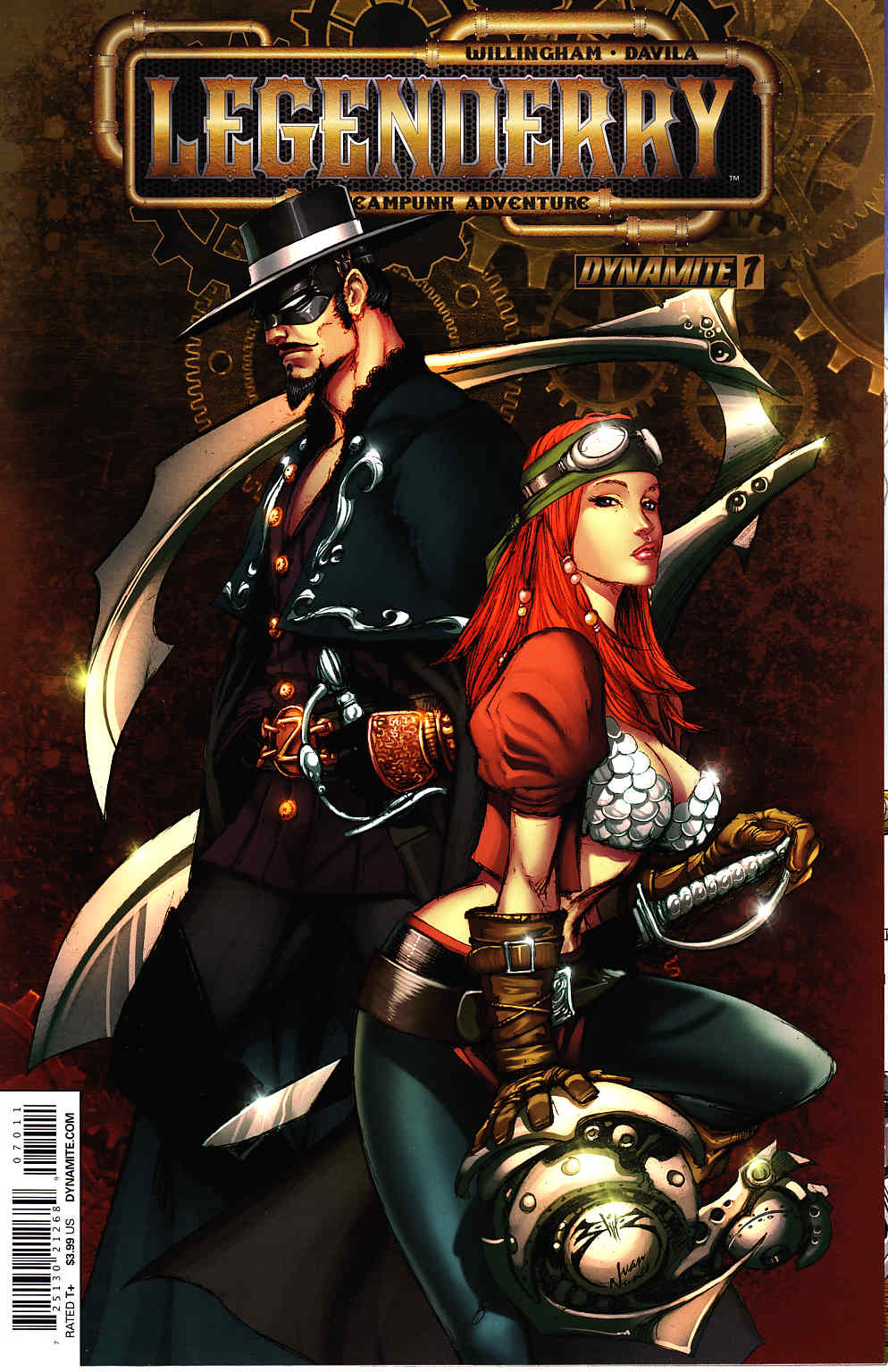 Legenderry A Steampunk Adventure #7 [Dynamite Comic] THUMBNAIL
