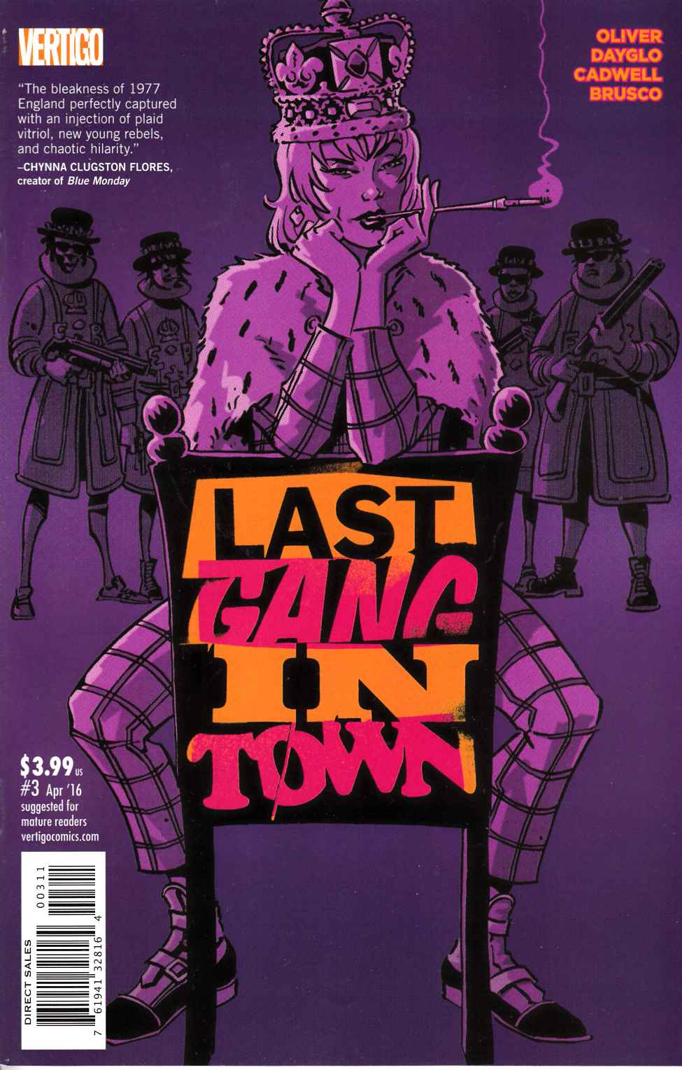 Last Gang in Town #3 [DC Comic] THUMBNAIL