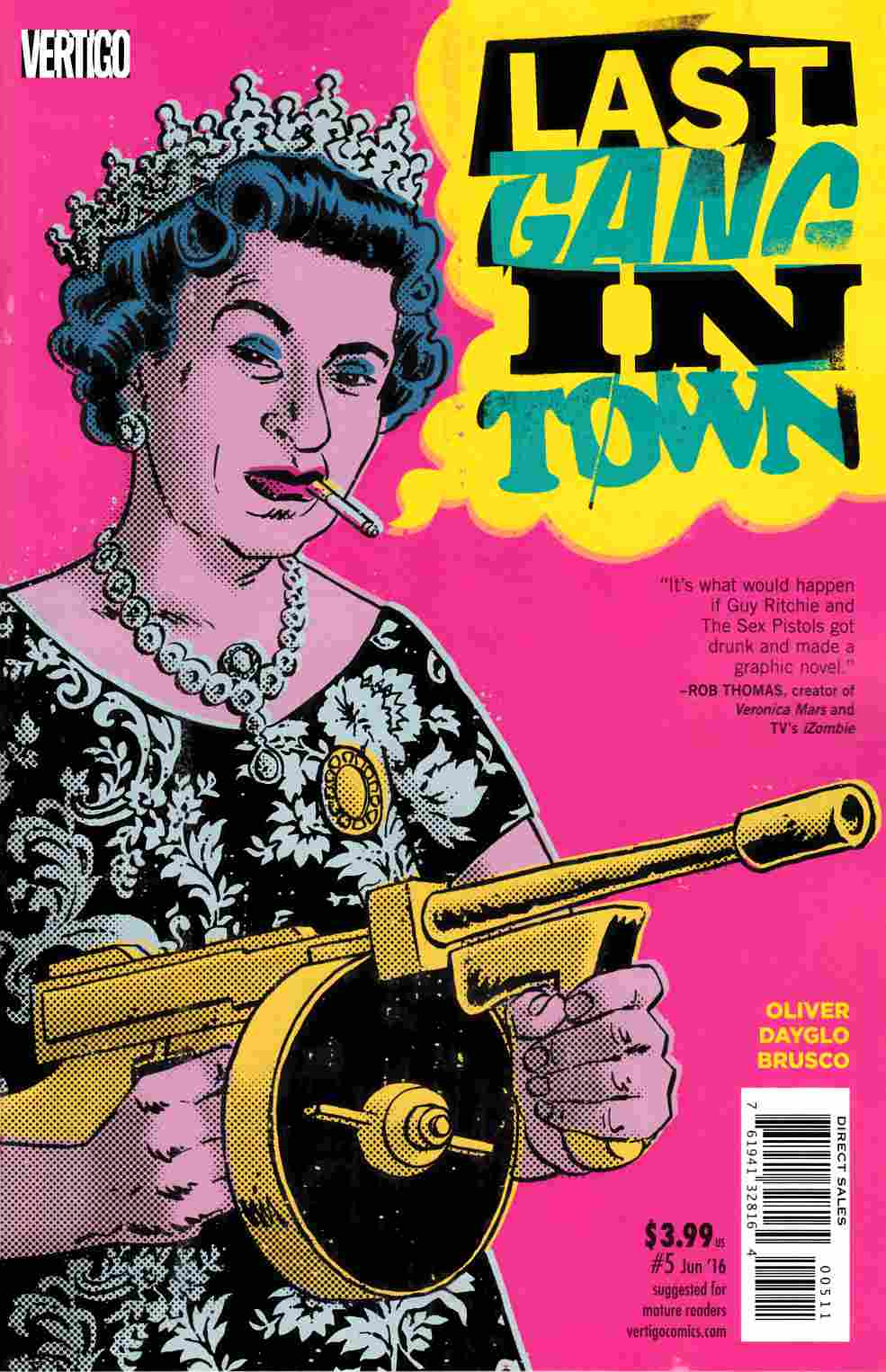 Last Gang in Town #5 [DC Comic] LARGE