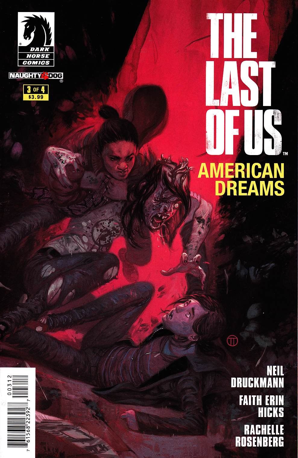 Last of Us American Dreams #3 Second Printing [Comic]_THUMBNAIL