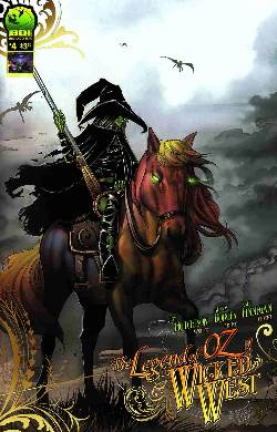 Legend of Oz The Wicked West #4 Cover B [Comic]