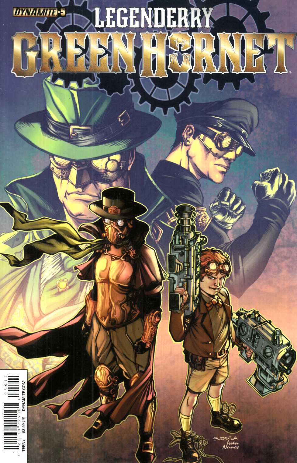 Legenderry Green Hornet #5 [Dynamite Comic]