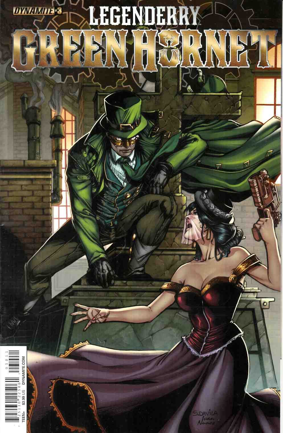 Legenderry Green Hornet #3 [Dynamite Comic]
