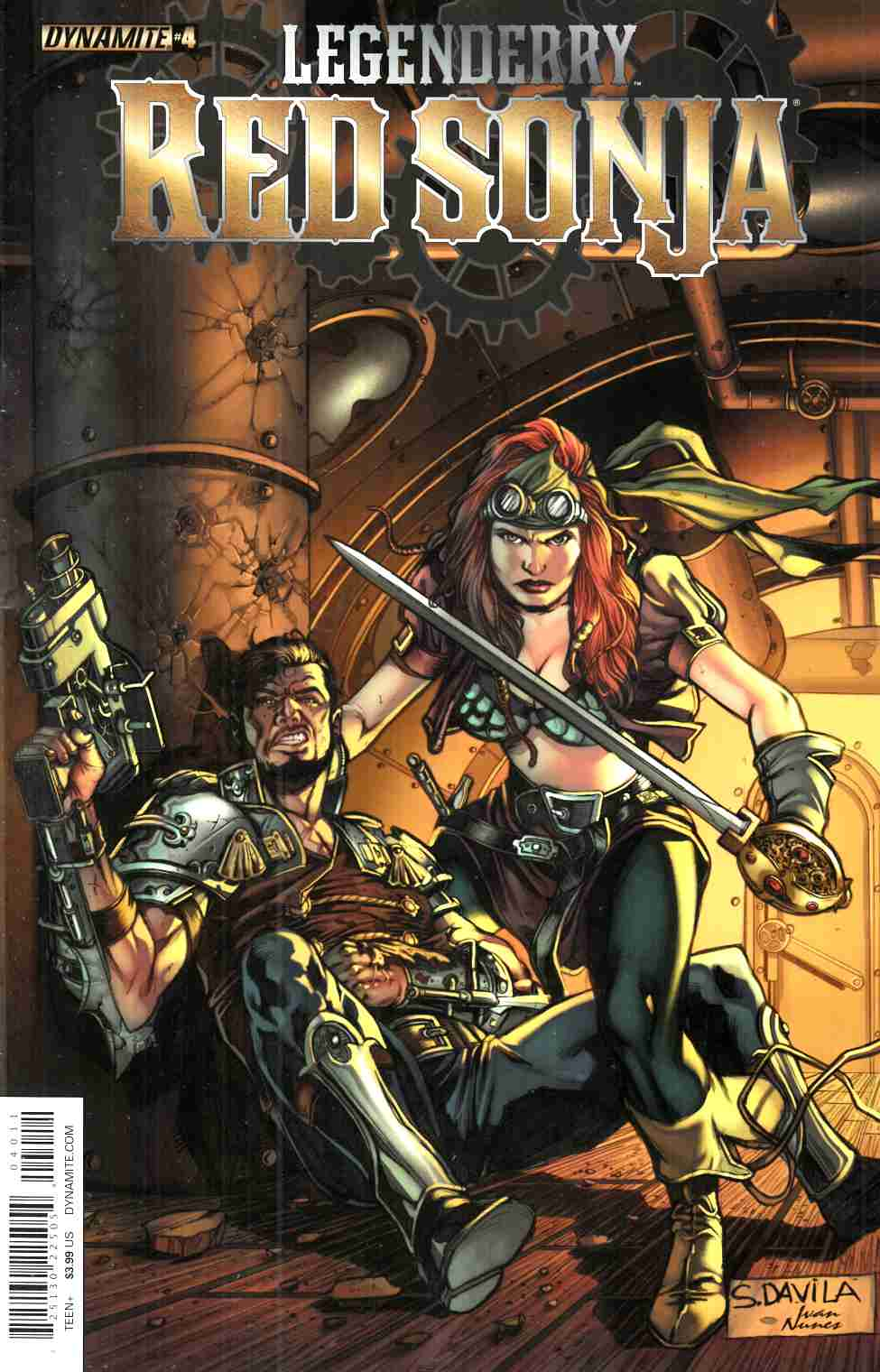 Legenderry Red Sonja #4 [Dynamite Comic]_THUMBNAIL
