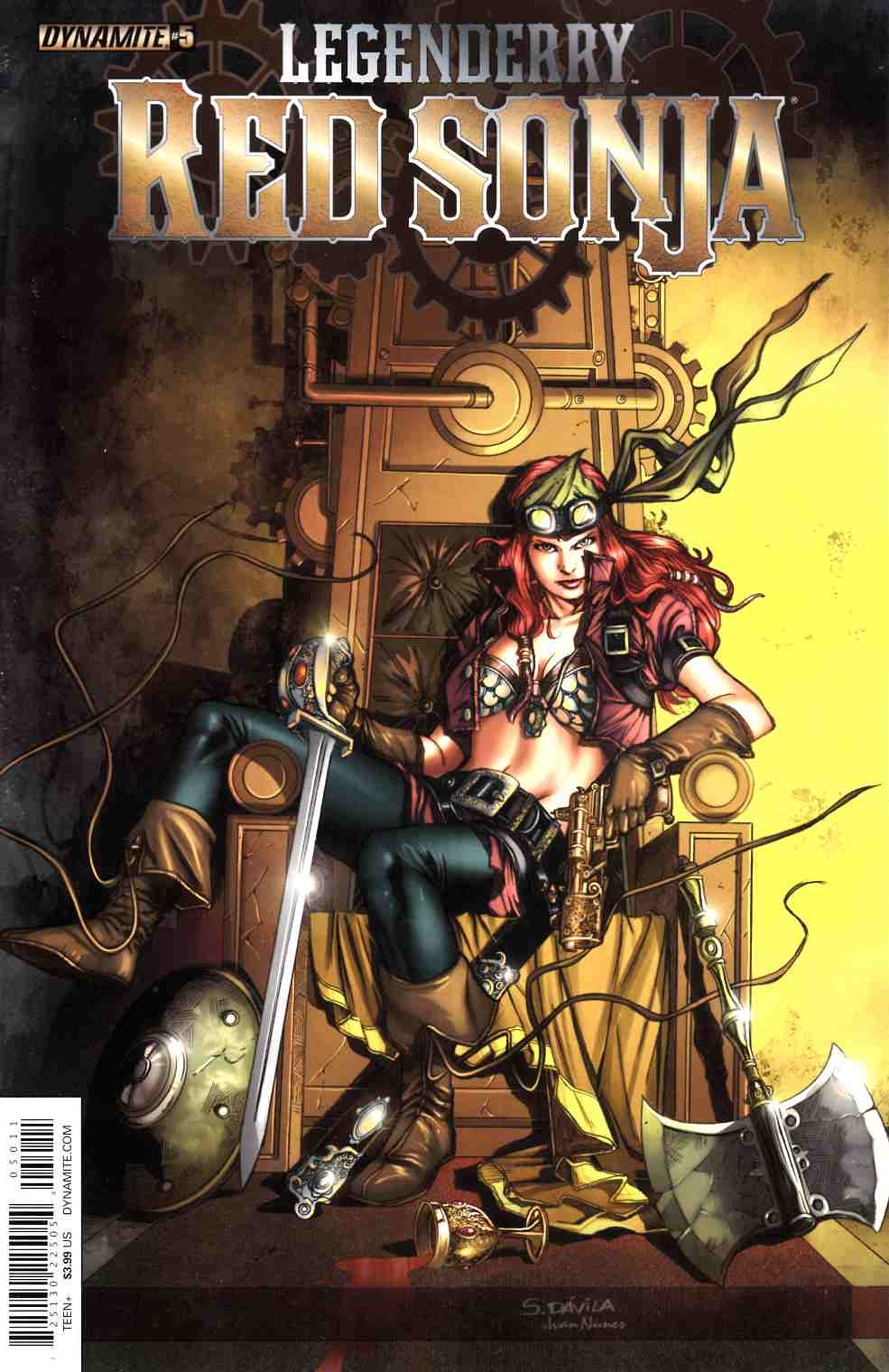 Legenderry Red Sonja #5 [Dynamite Comic]_THUMBNAIL