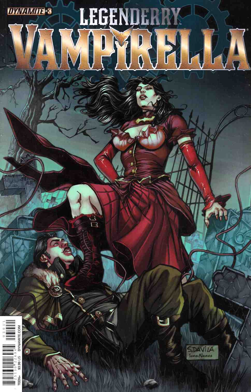 Legenderry Vampirella #3 [Dynamite Comic]_THUMBNAIL