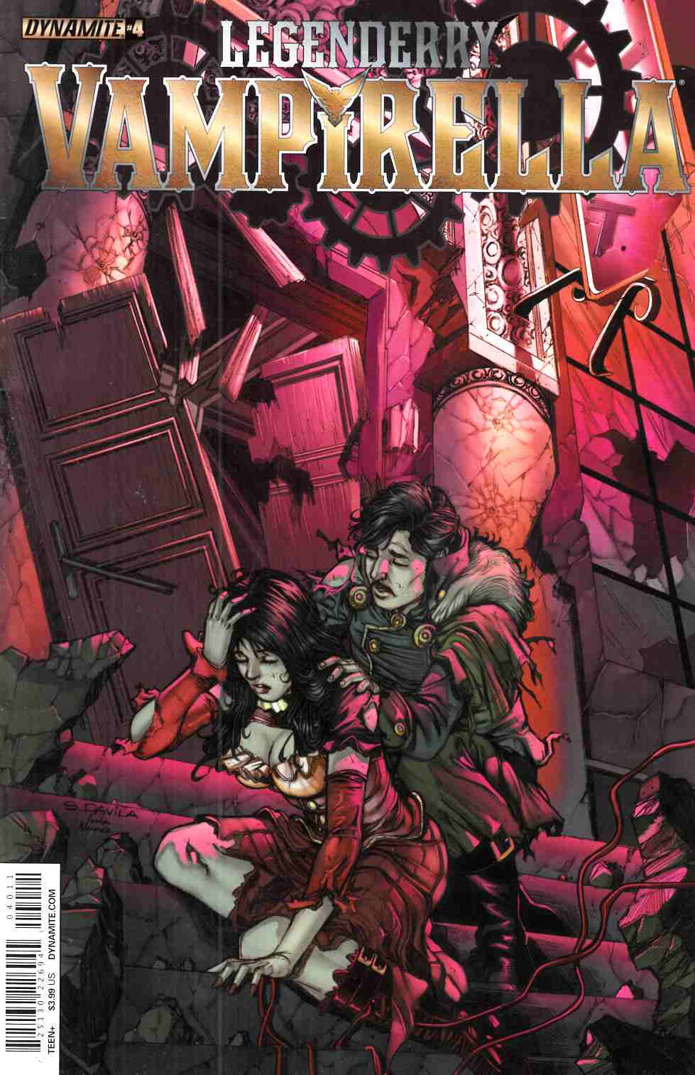 Legenderry Vampirella #4 [Dynamite Comic]_THUMBNAIL