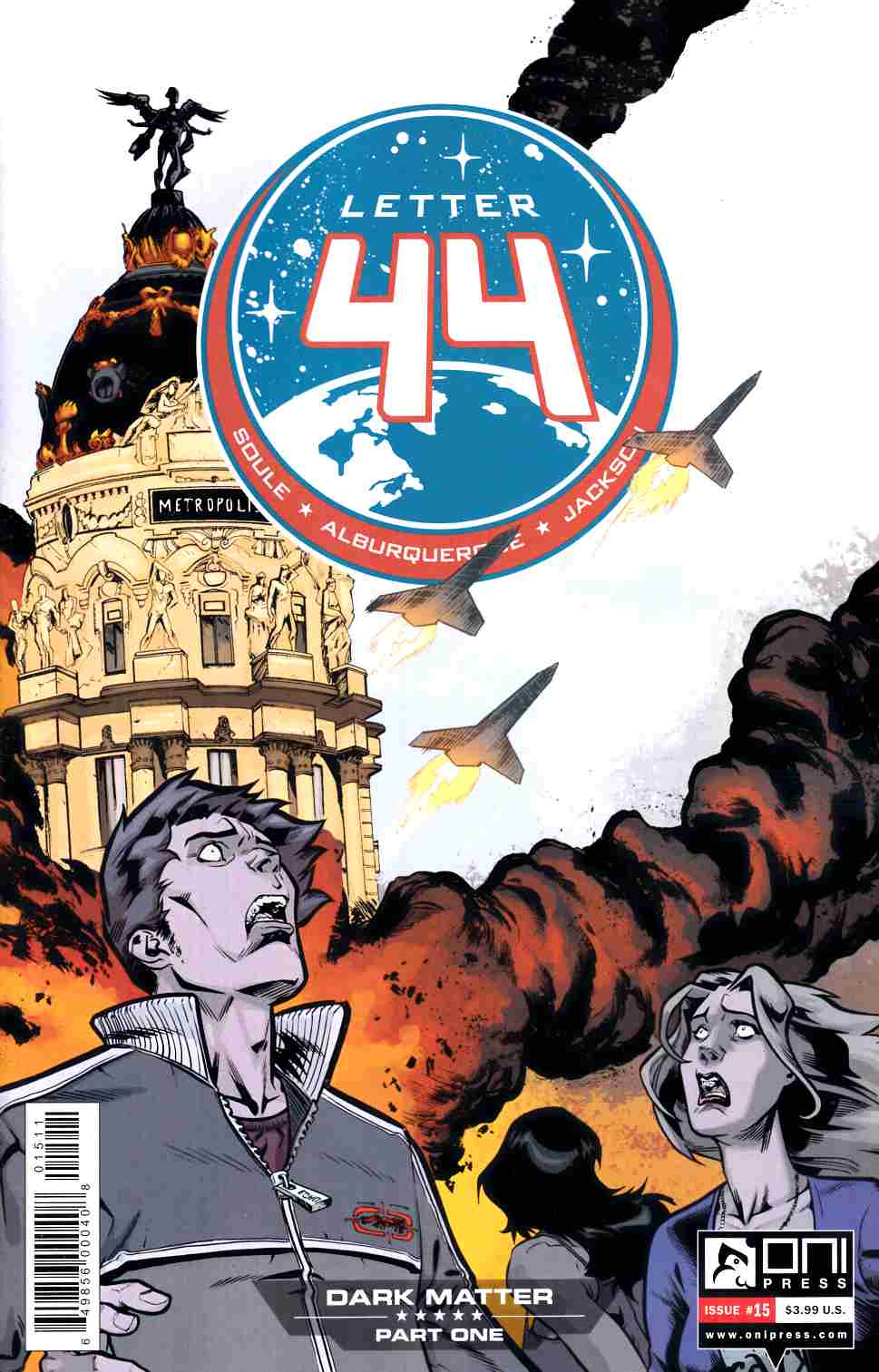 Letter 44 #15 [Oni Press Comic]