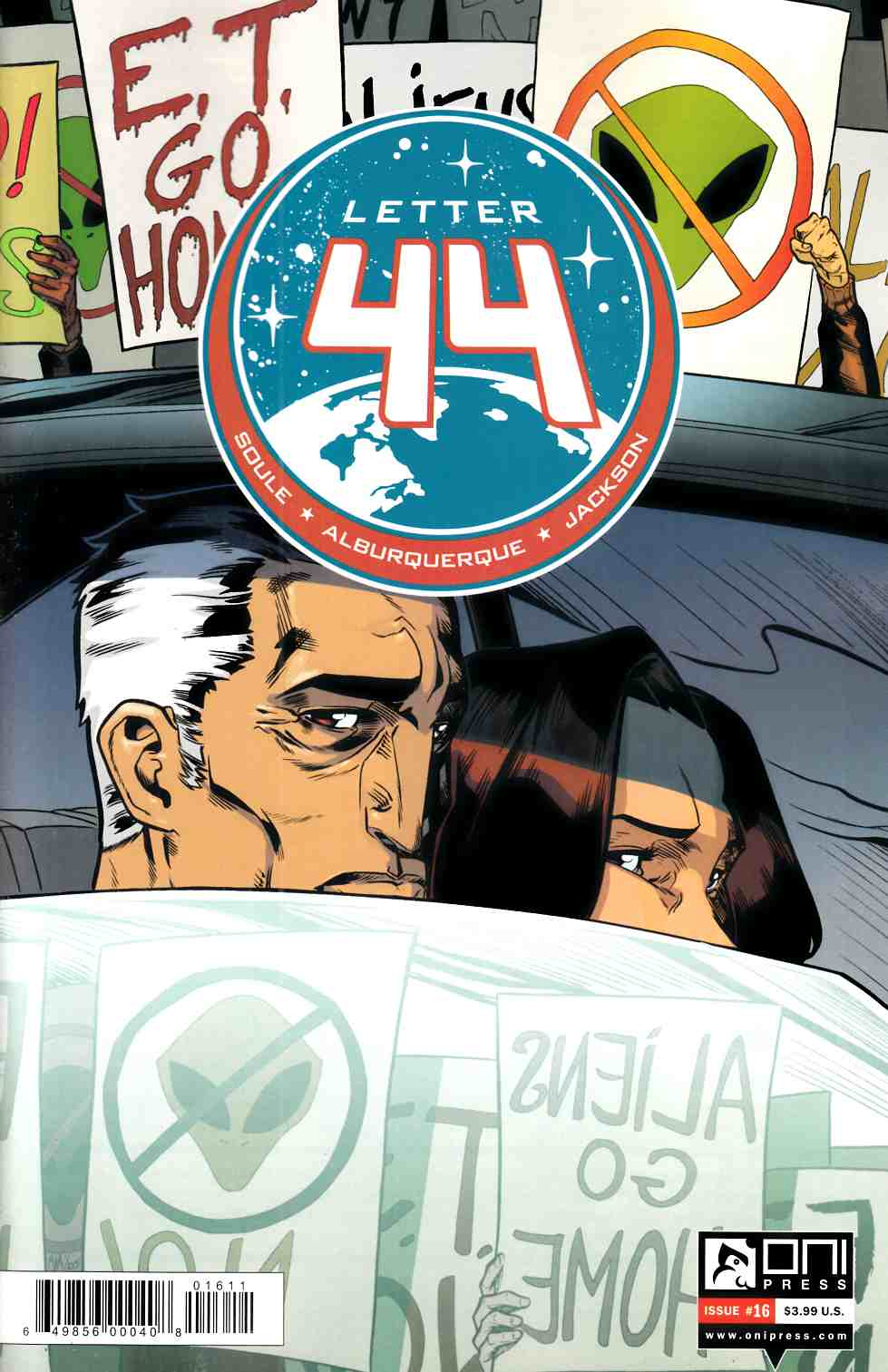 Letter 44 #16 [Oni Press Comic]