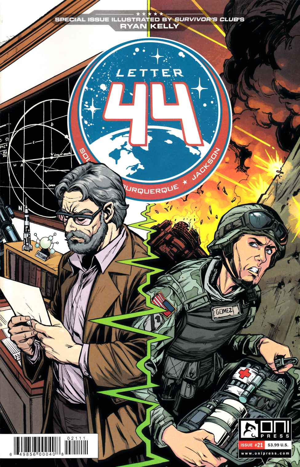 Letter 44 #21 [Oni Press Comic] LARGE