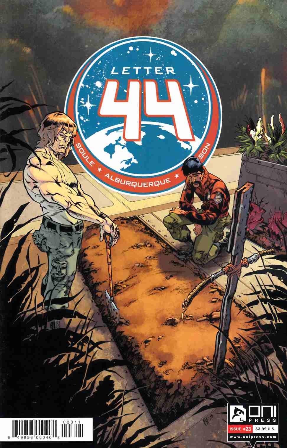 Letter 44 #23 [Oni Press Comic] LARGE