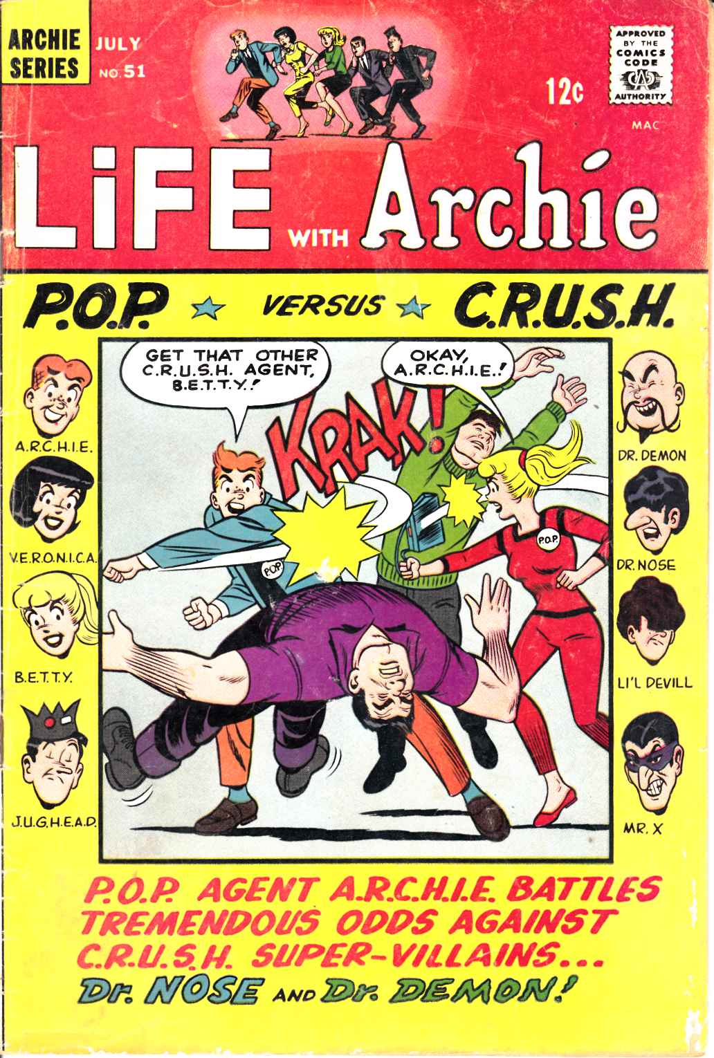 Life With Archie #51 Good Plus (2.5) [Archie Comic] THUMBNAIL