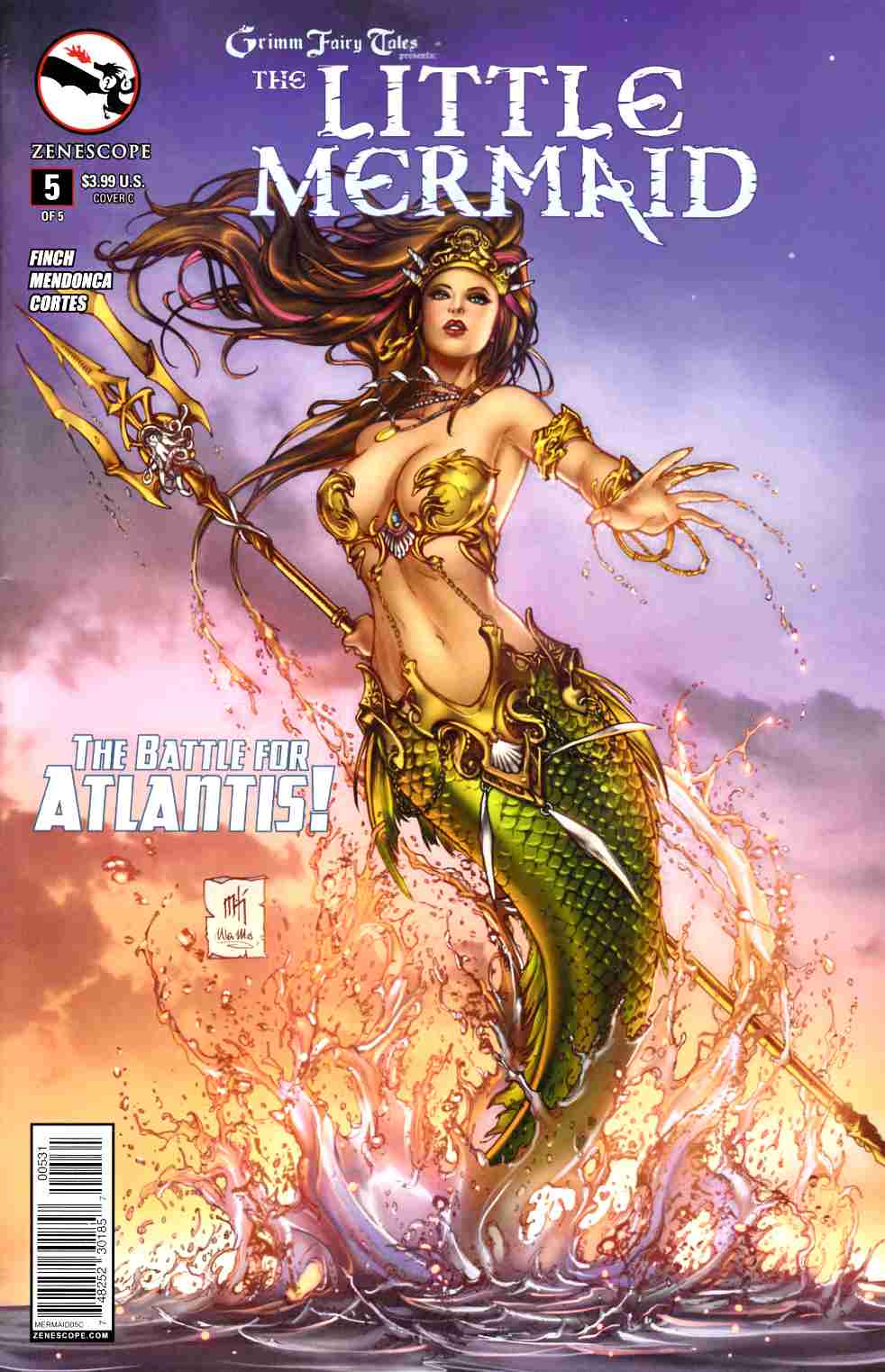 GFT Little Mermaid #5 Cover C- Krome [Zenescope Comic]_LARGE