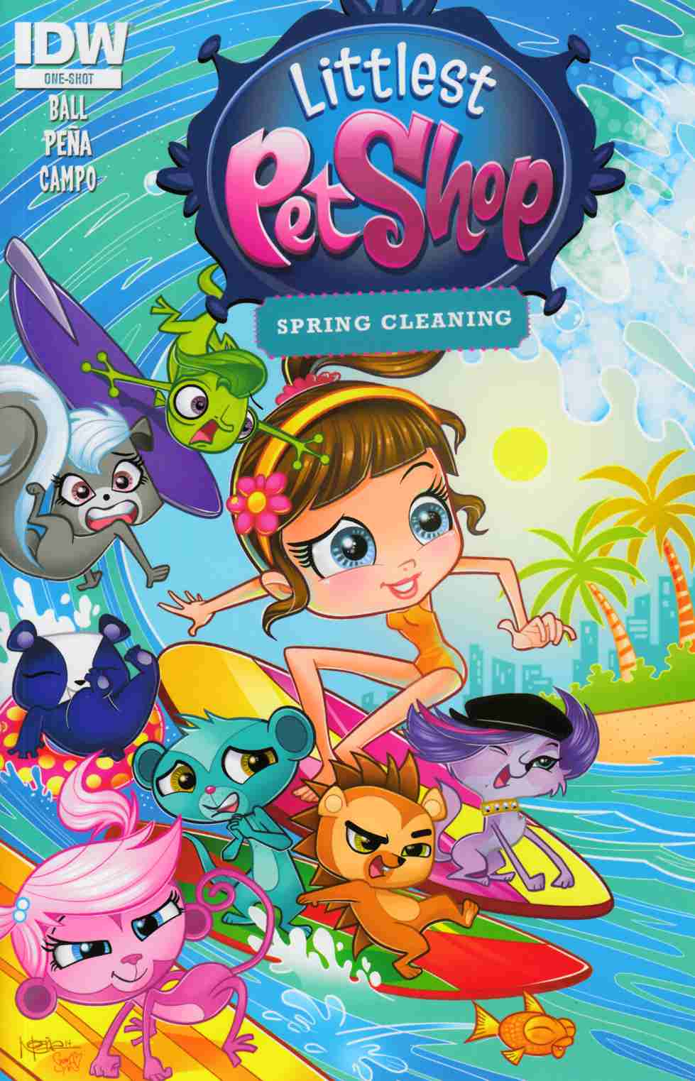 Littlest Pet Shop Spring Cleaning (One Shot) [IDW Comic] THUMBNAIL
