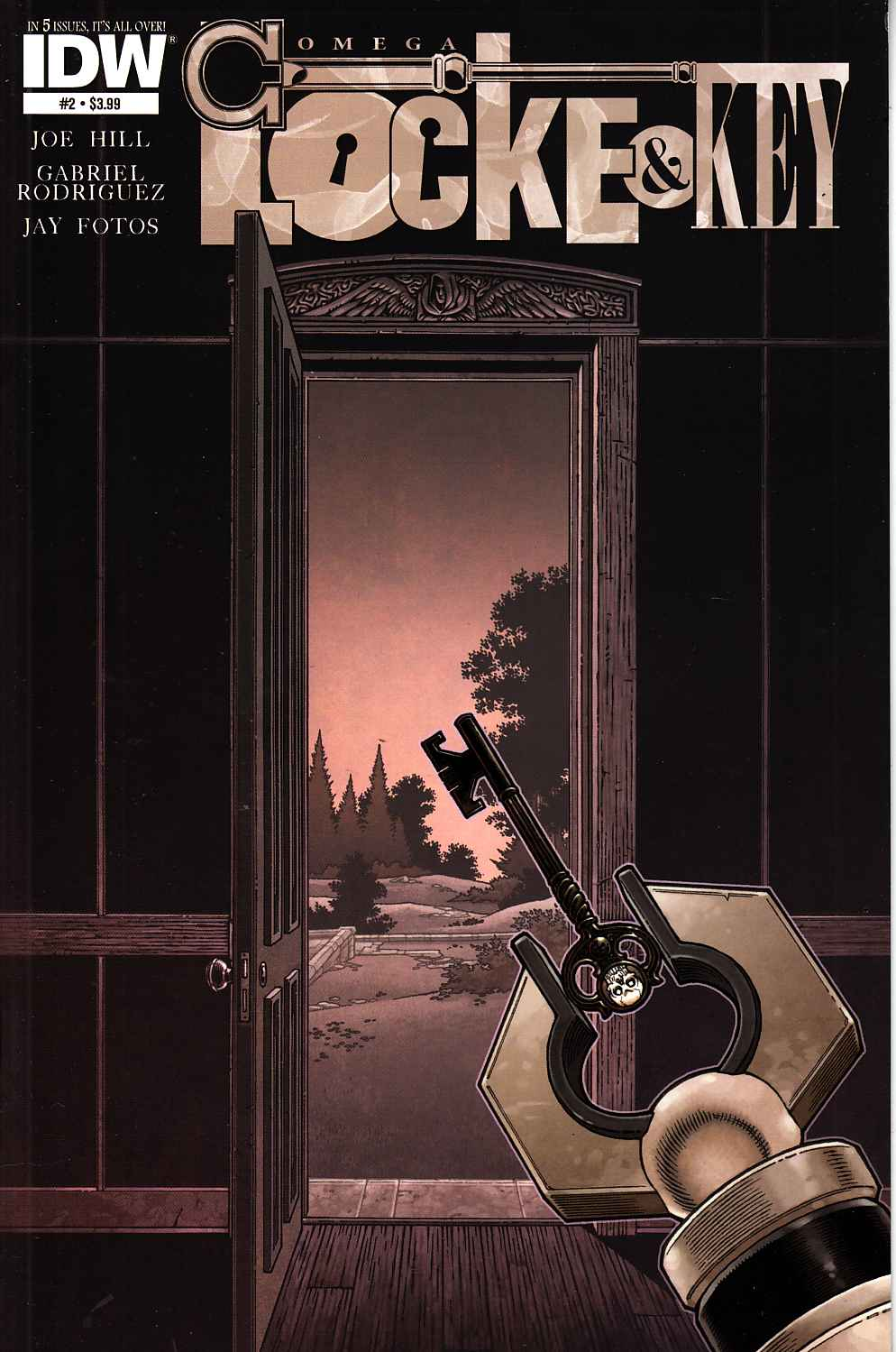 Locke & Key Omega #2 [IDW Comic]