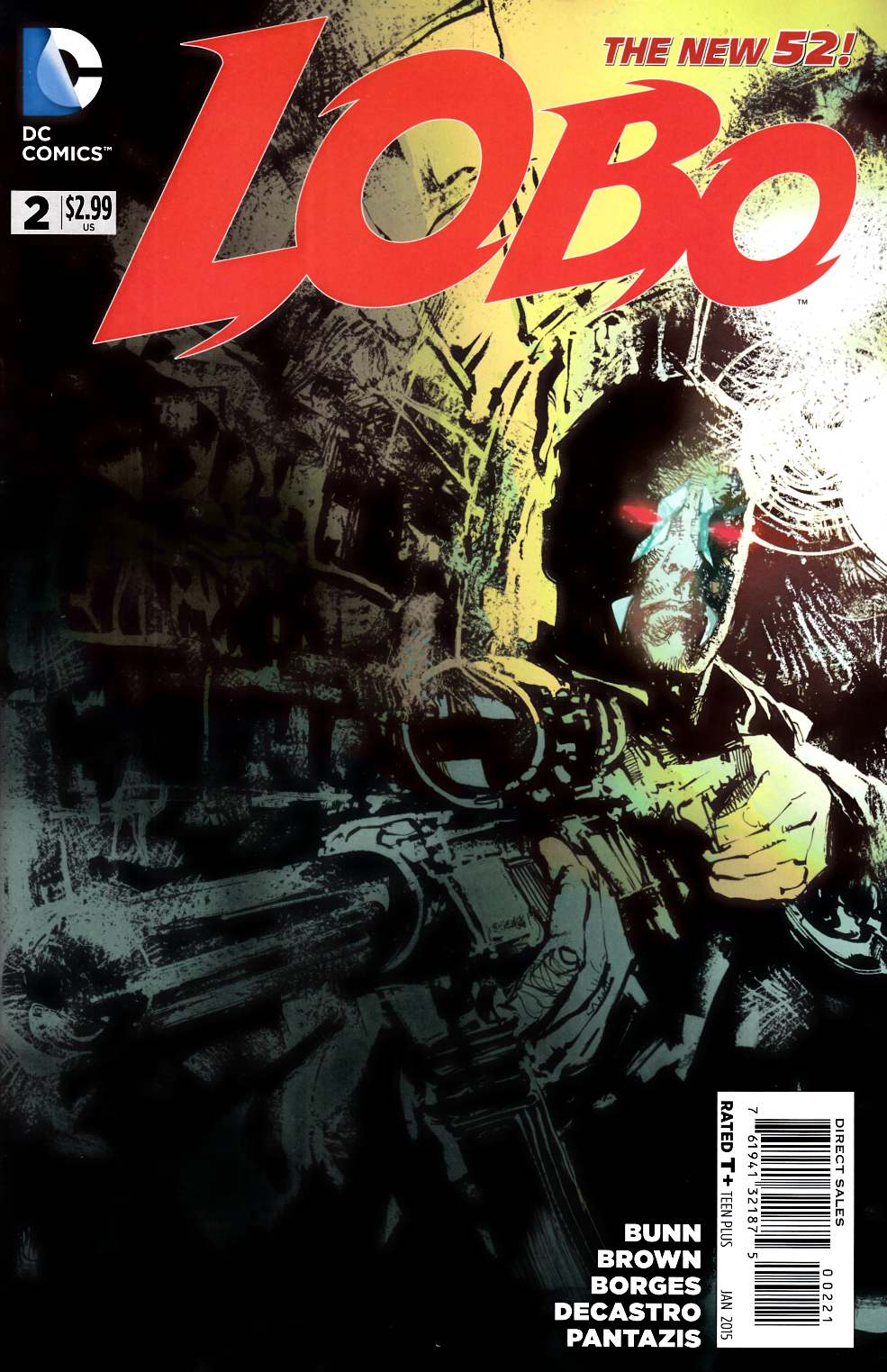 Lobo #2 Variant Cover [DC Comic] LARGE