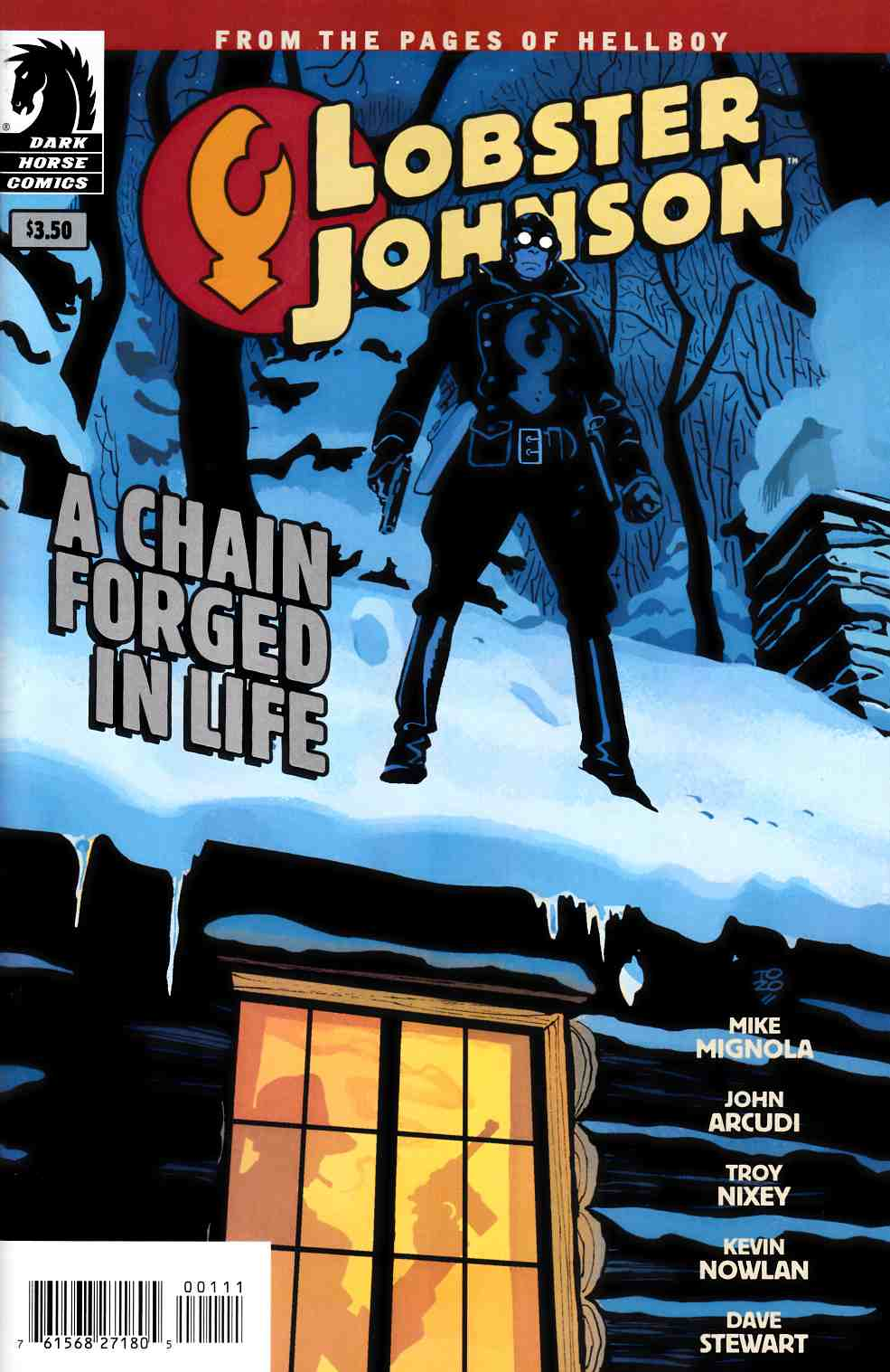 Lobster Johnson A Chain Forged In Life One Shot [Dark Horse Comic] THUMBNAIL