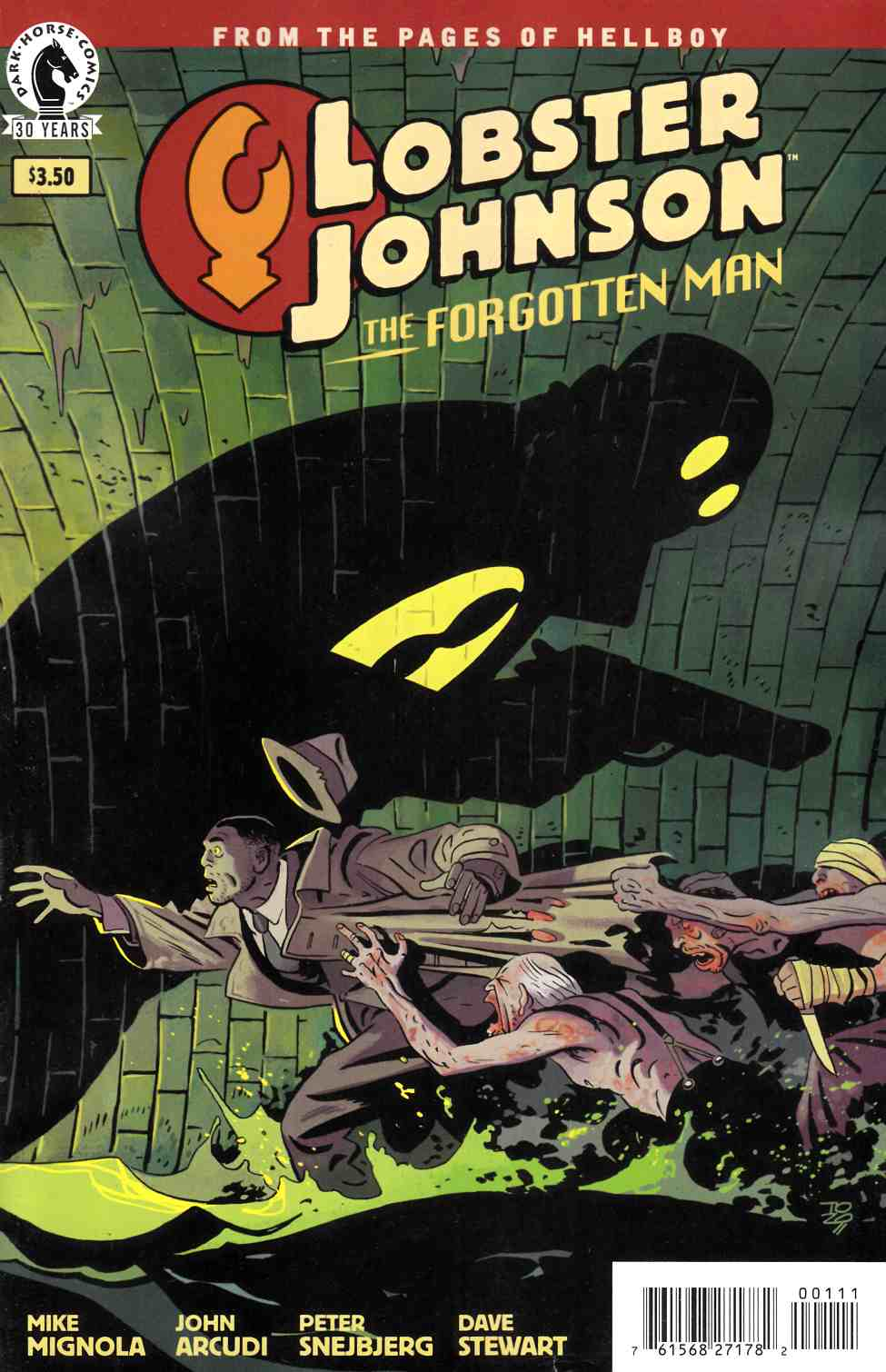Lobster Johnson Forgotten Man (One Shot) [Dark Horse Comic]