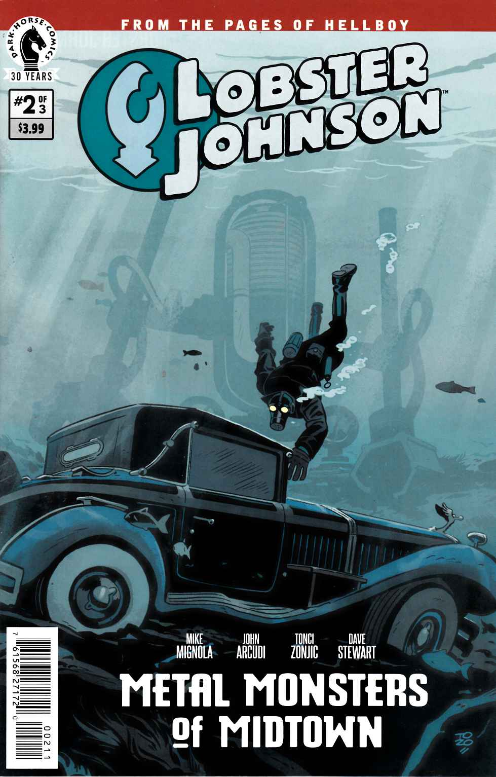 Lobster Johnson Metal Monsters of Midtown #2 [Dark Horse Comic] THUMBNAIL