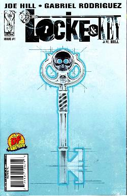 Locke & Key #1 DF Exclusive Negative Variant [Comic] LARGE