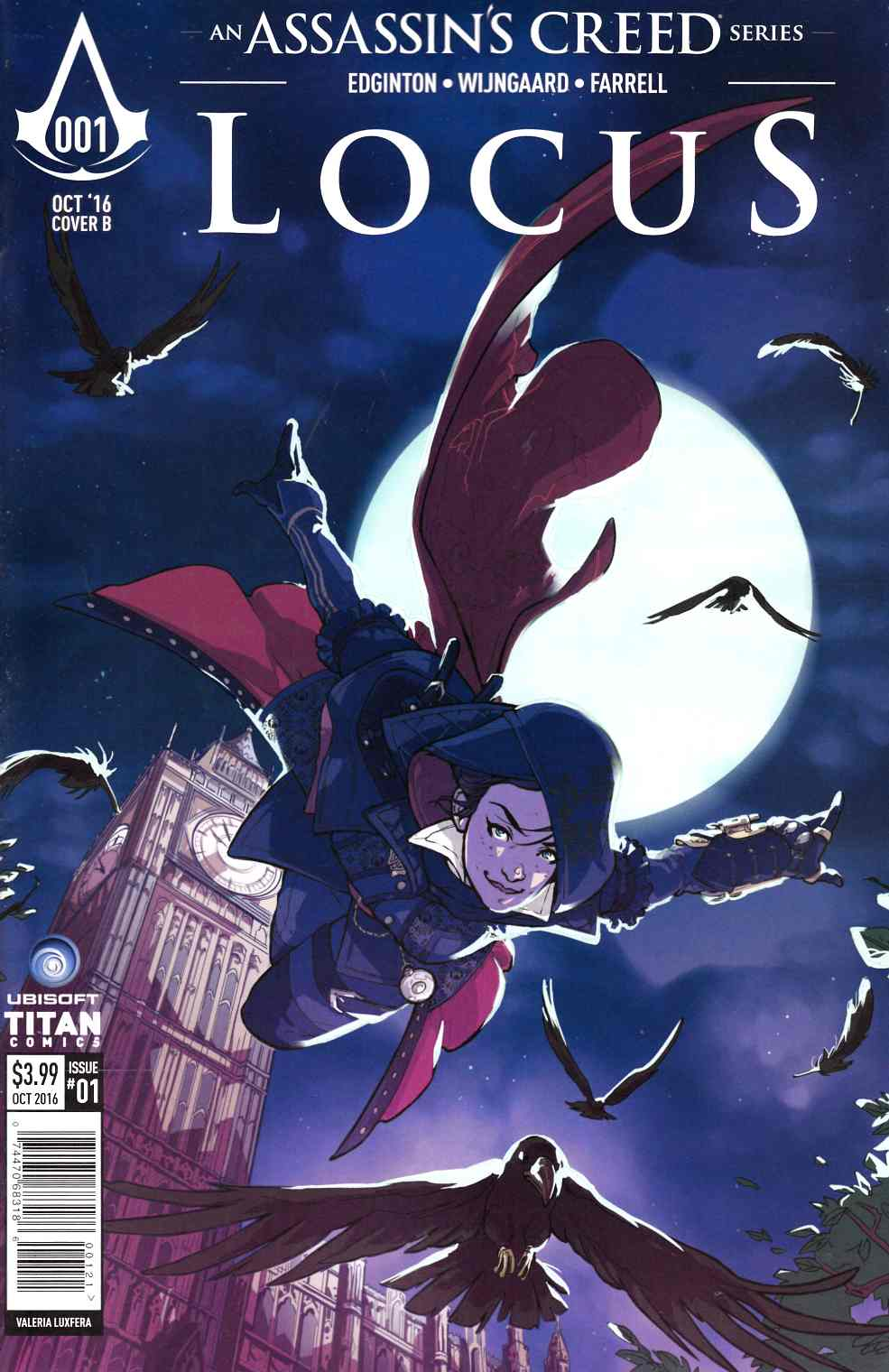 Assassins Creed Locus #1 Cover B [Titan Comic]_THUMBNAIL