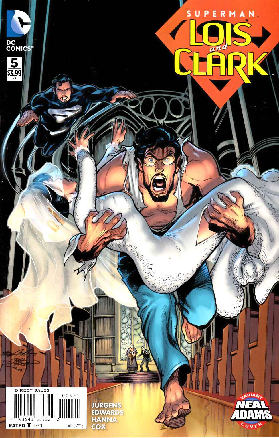 Superman Lois and Clark #5 Neal Adams Variant Cover [DC Comic]_THUMBNAIL