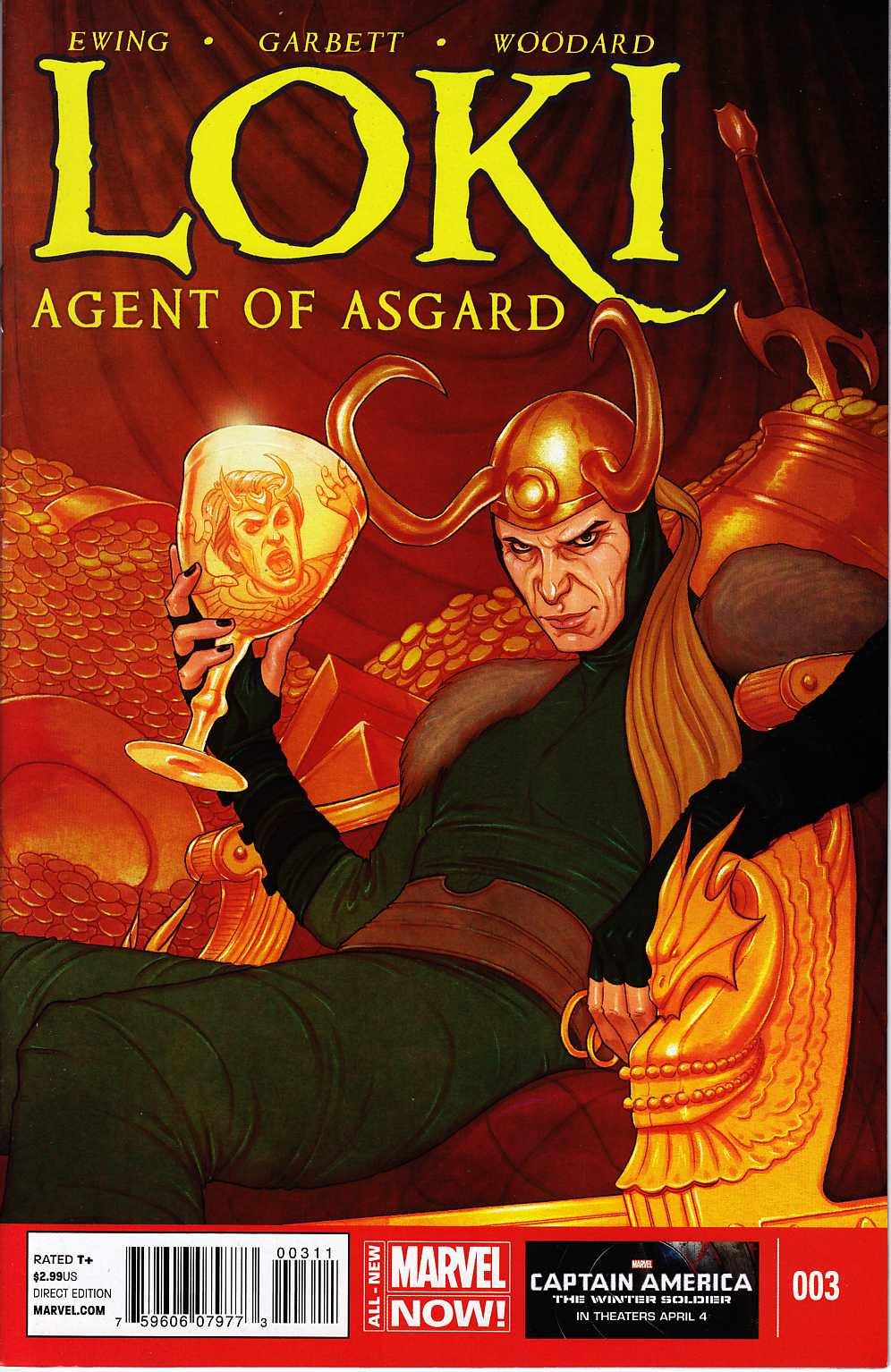 Loki Agent of Asgard #3 Fine/Very Fine (7.0) [Marvel Comic] THUMBNAIL