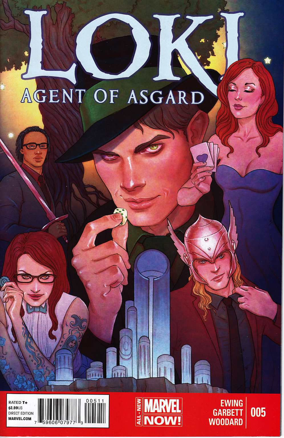 Loki Agent of Asgard #5 Very Fine/Near Mint (9.0) [Marvel Comic] THUMBNAIL