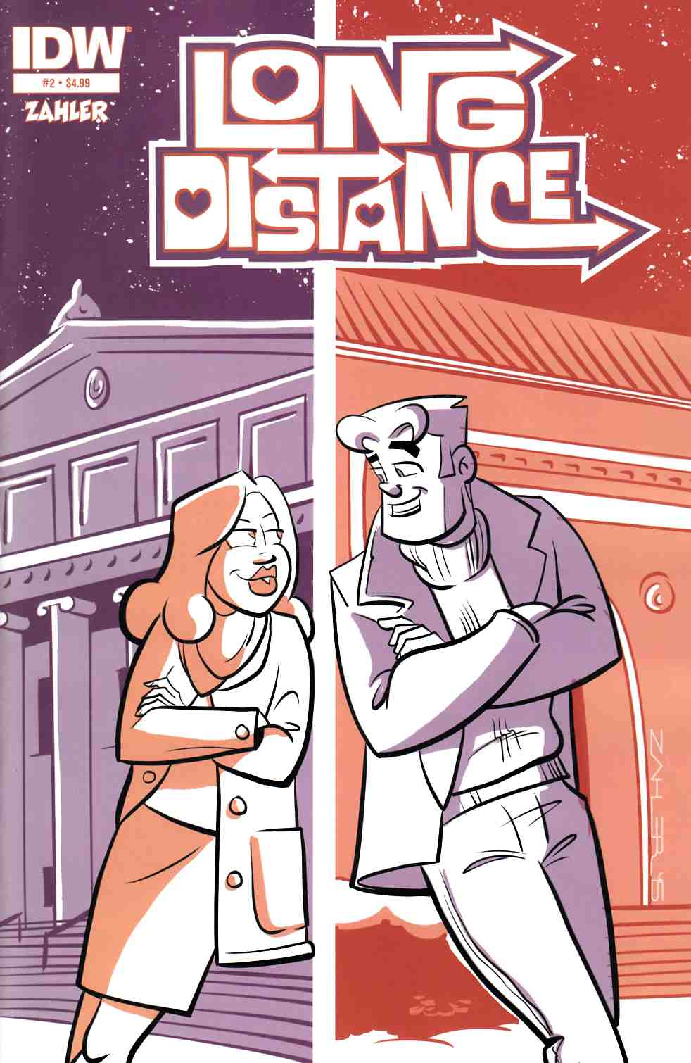 Long Distance #2 [IDW Comic]