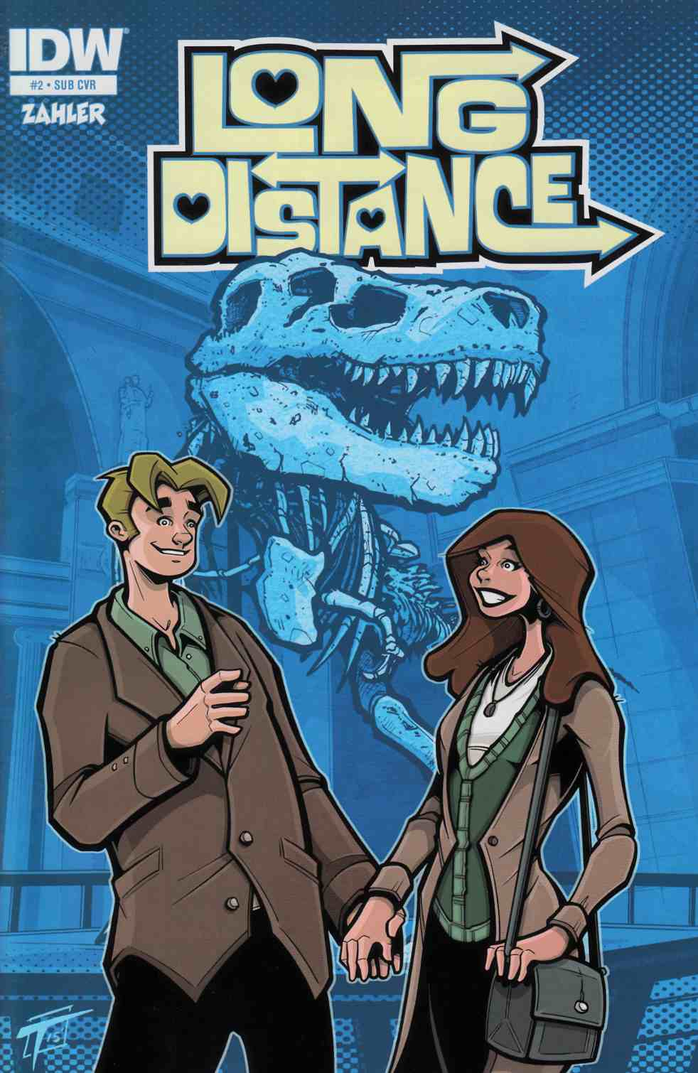 Long Distance #2 Subscription Cover [IDW Comic]