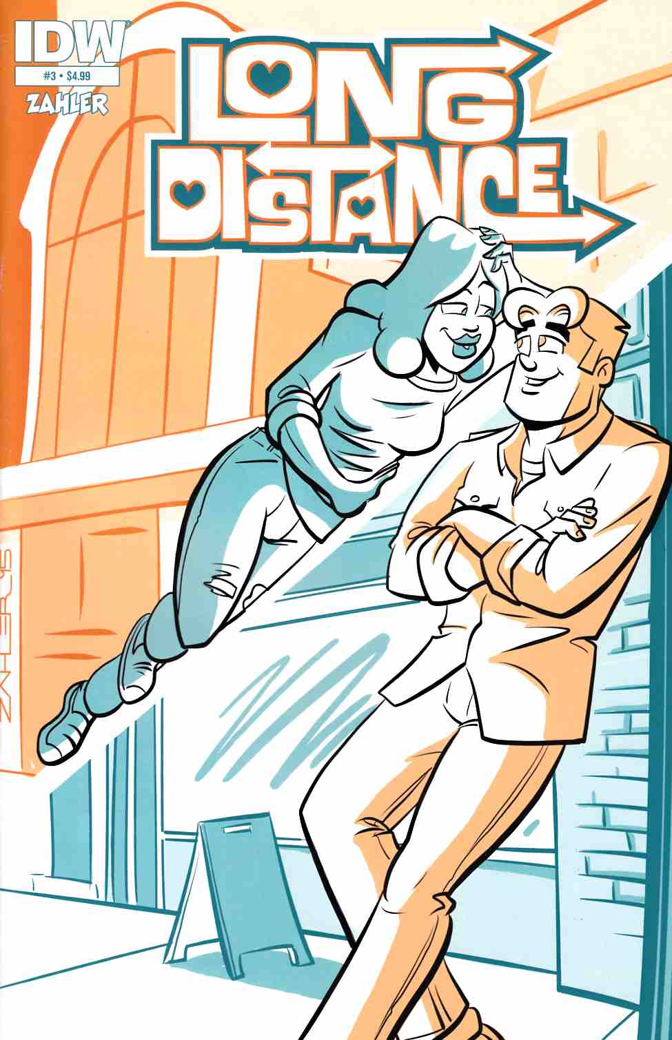 Long Distance #3 [IDW Comic]