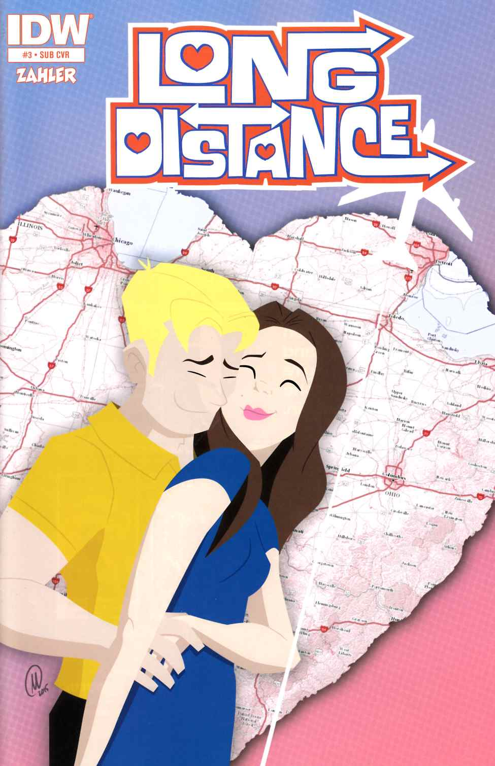 Long Distance #3 Subscription Cover [IDW Comic]