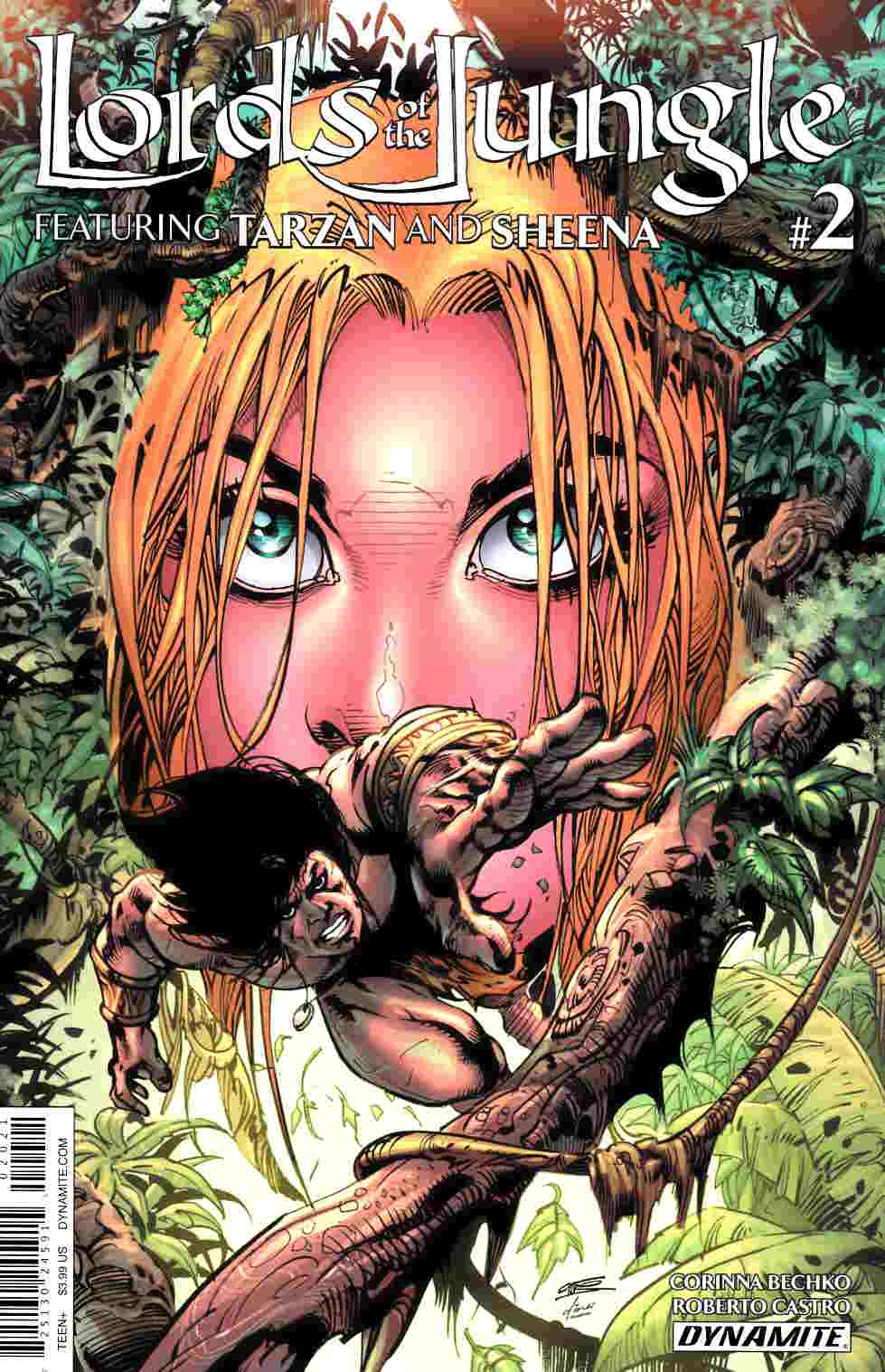 Lords of the Jungle #2 Cover B [Dynamite Comic] THUMBNAIL