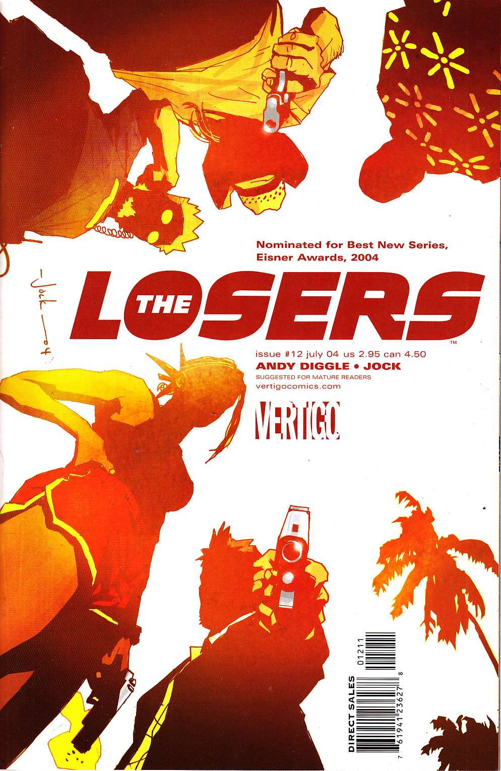 Losers #12 [DC Comic] LARGE
