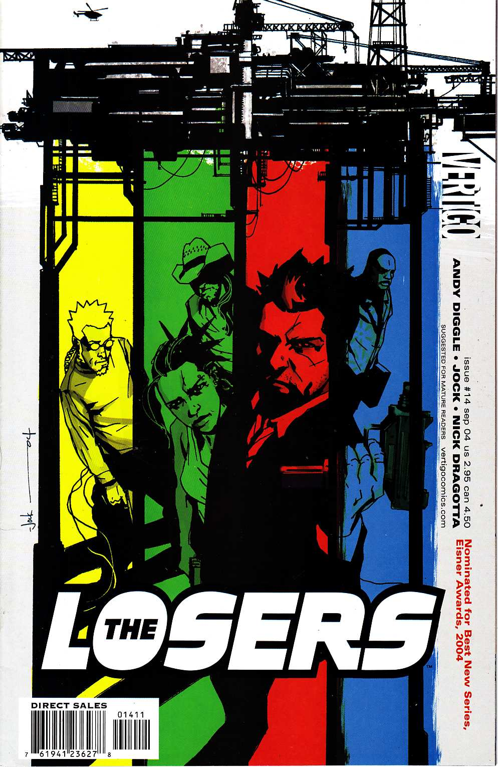 Losers #14 [DC Comic] LARGE
