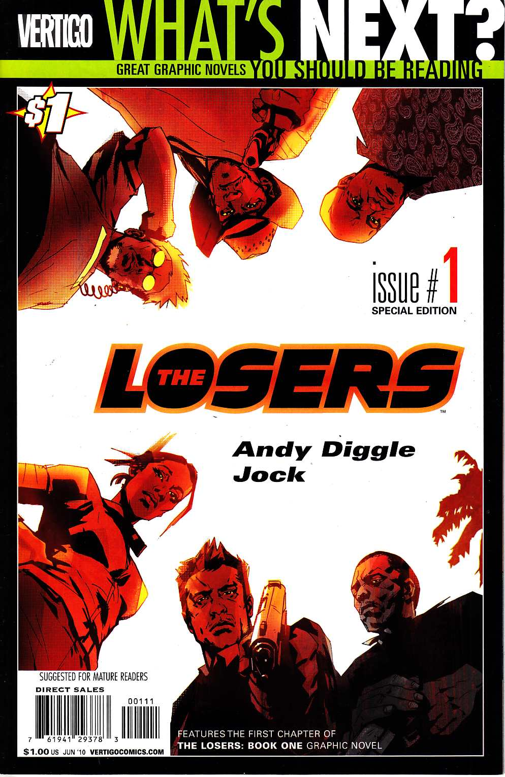Losers #1 Special Edition [DC Comic] LARGE